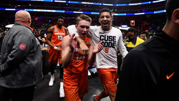 No. 11 Syracuse Defeats No.3 Michigan State For Spot In Sweet 16--IMAGE