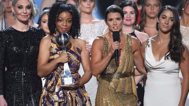 Victims of Larry Nassar Receive Arthur Ashe Courage Award at ESPYs-IMAGE