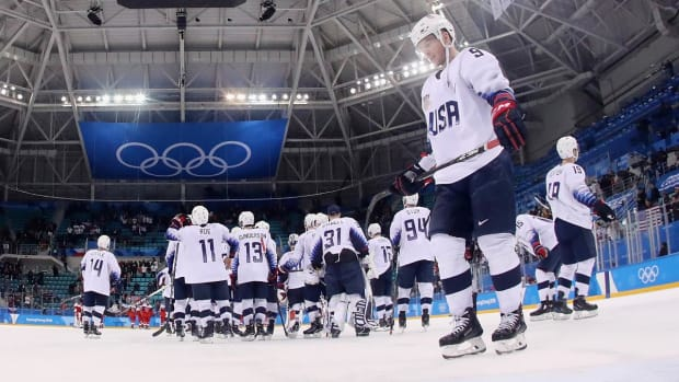 USA Hockey Eliminated From Olympics With 3-2 Shootout Loss to Czech Republic - IMAGE