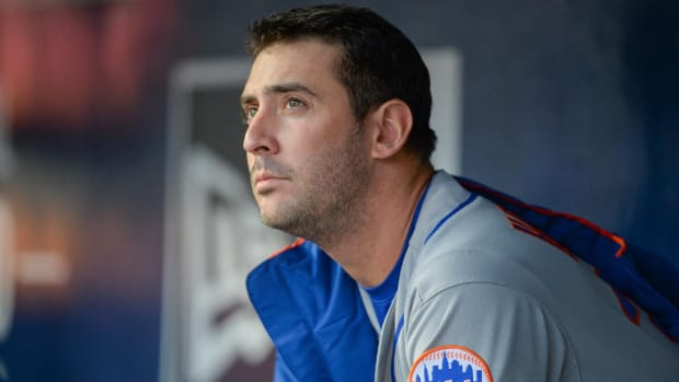 Mets' Matt Harvey Traded to Reds for Devin Mesoraco  - IMAGE