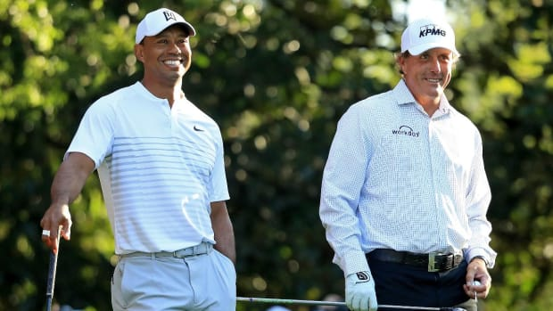 Report: Tiger Woods, Phil Mickelson Planning $10 Million, Winner-Take-All Match - IMAGE