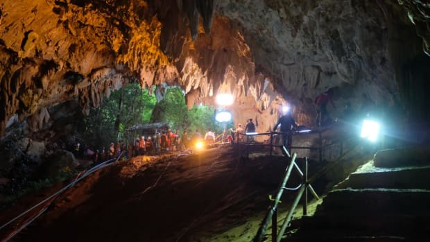 Four Youth Soccer Players Rescued From Thailand Cave - IMAGE