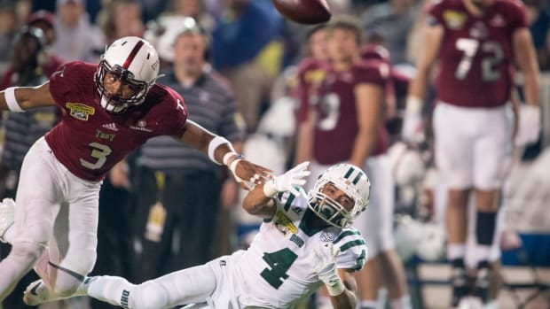 Troy Safety Kris Weatherspoon's Versatility Make Him an Intriguing Mid-Round Prospect - IMAGE