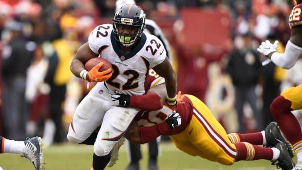Broncos Cut Running Back C.J. Anderson