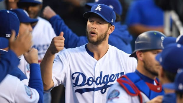 Dodgers Place Clayton Kershaw On DL With Biceps Injury--IMAGE