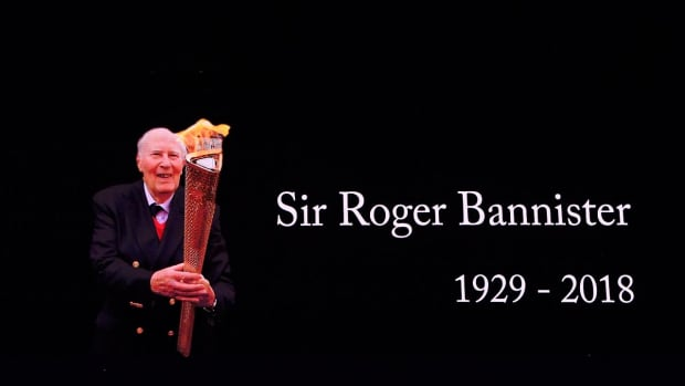 Roger Bannister, First to Run Sub-Four Minute Mile, Dies at 88--IMAGE