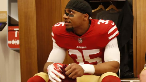 Former 49ers Safety Eric Reid Files Collusion Grievance Against NFL--IMAGE
