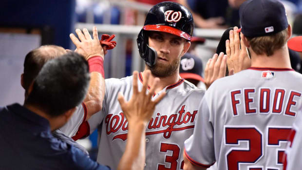 Nationals Not Moving Bryce Harper Despite Trade Rumors - IMAGE