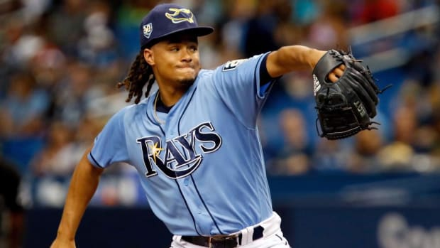 Tampa Bay Rays Trade Pitcher Chris Archer to Pittsburgh Pirates--IMAGE