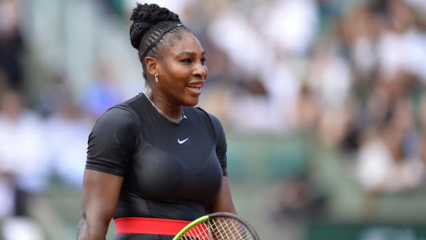Serena Williams Wins First Grand Slam Match Since Daughter's Birth