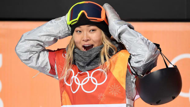 USA's Chloe Kim Wins Gold Medal in Women's Halfpipe - IMAGE