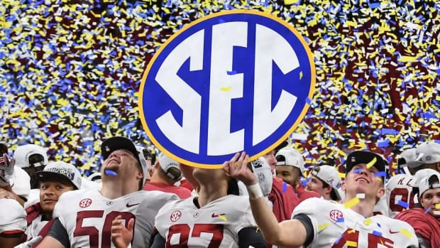Oklahoma Joins Alabama, Clemson, Notre Dame in College Football Playoff--IMAGE