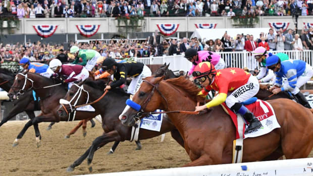 Losing Owner Calls For Investigation Into Tactics Used At Belmont--IMAGE