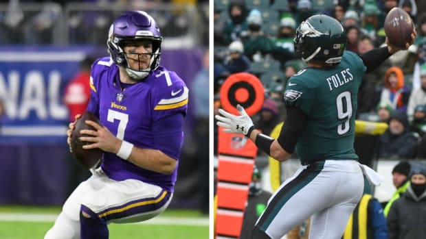 More Likely To Avoid QB Catastrophe: Eagles or Vikings?  - IMAGE