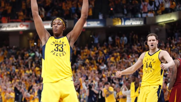 Indiana Completes Comeback Against Cavaliers in Game Three, Pacers Lead Series 2-1--IMAGE