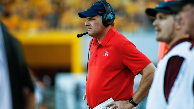 Arizona Fires Head Coach Rich Rodriguez--IMAGE