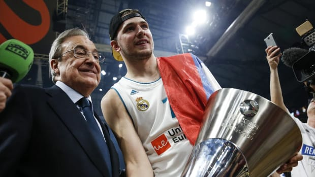 Luka Doncic Leads Real Madrid to Euroleague Title, 19-Year-Old Wins Final Four MVP--IMAGE