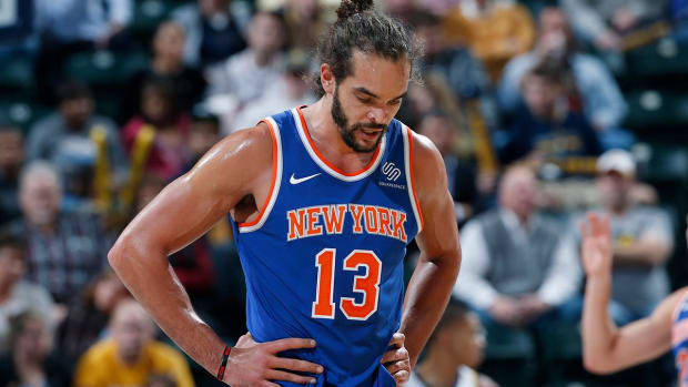 Report: Joakim, Knicks Expected to Part Way Prior to Training Camp--IMAGE
