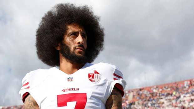 Lawyer: NFL Owner Changed Mind About Signing Kaepernick After Trump's Comments--IMAGE