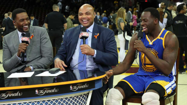 Draymond Green to Charles Barkley: 'Punch Me In My Face When You See Me'--IMAGE
