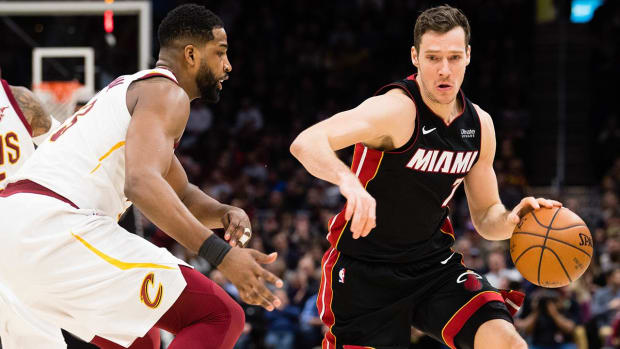 Heat's Goran Dragic to Replace Kevin Love in All-Star Game--IMAGE