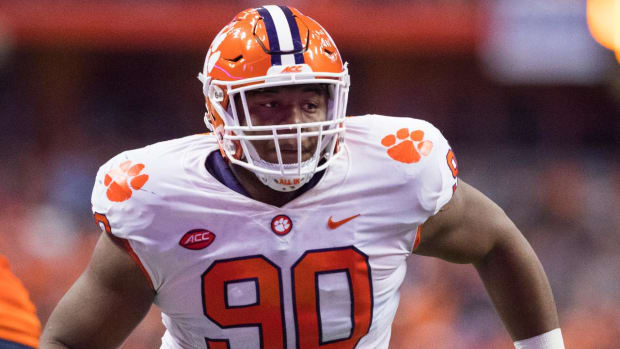 Clemson's Dexter Lawrence, Others Remain Suspended After B-Samples Come Back Positive - IMAGE