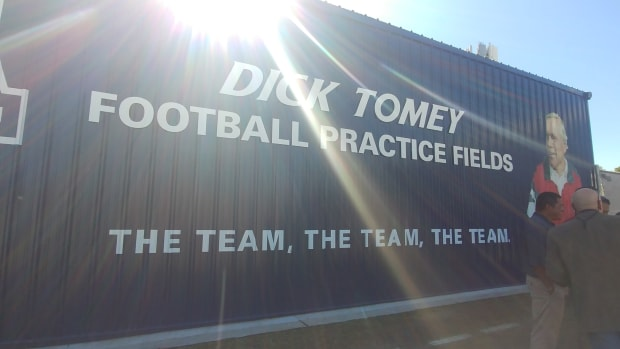 tomey practice fields