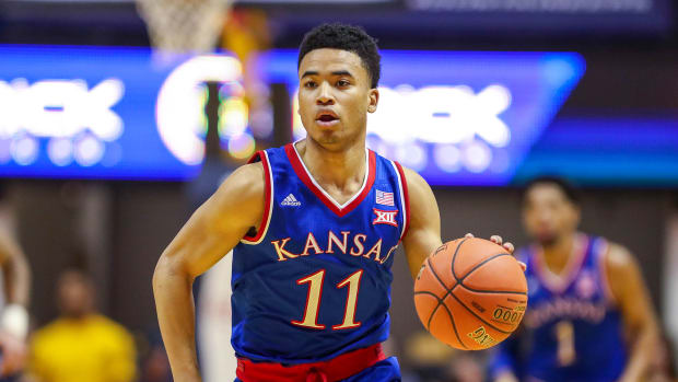 Kansas basketball Devon Dotson