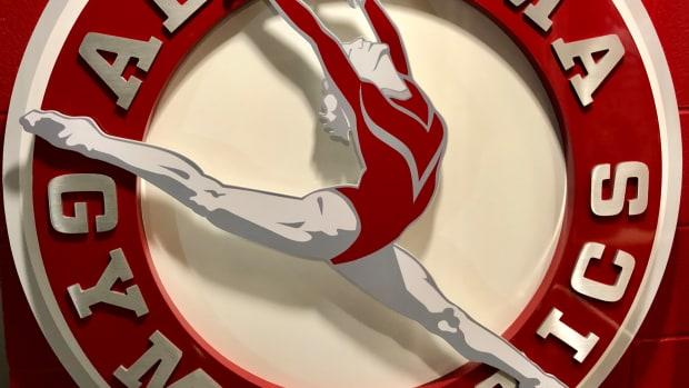 Alabama gymnastics logo