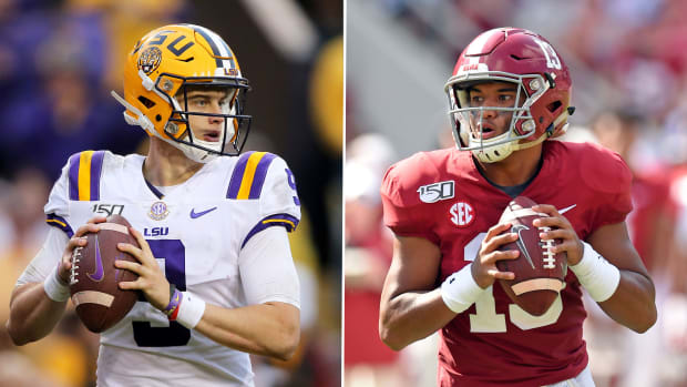 LSU vs Alabama Joe Burrow Tua Tagovailoa injury