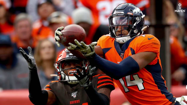 Courtland Sutton Earns Broncos' MVP for Week 9