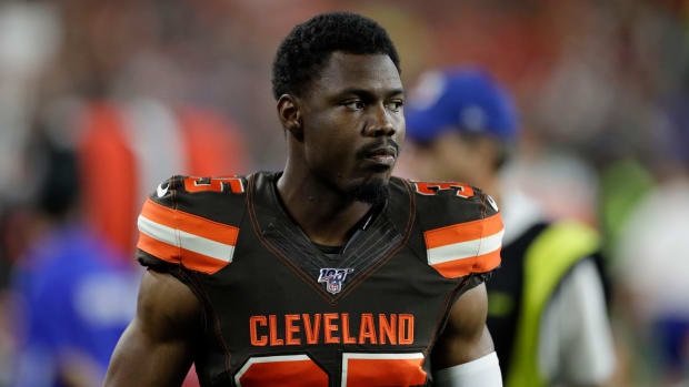 Browns safety Jermaine Whitehead