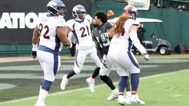 Michael Crabtree, Aqib Talib Have Suspensions Reduced to One Game - IMAGE
