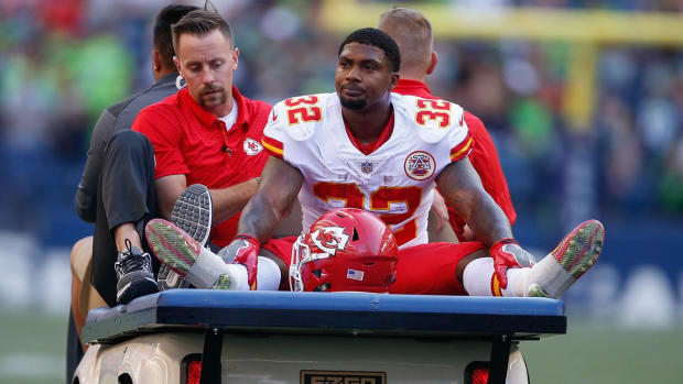Chiefs' Spencer Ware Expected to Miss Season With Torn PCL - IMAGE