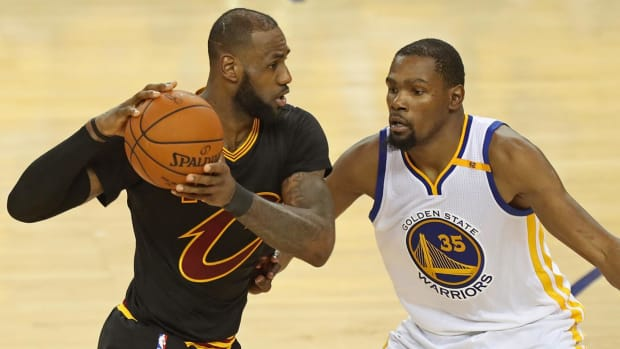 NBA Finals: Golden State Warriors vs. Cleveland Cavaliers IV IMG