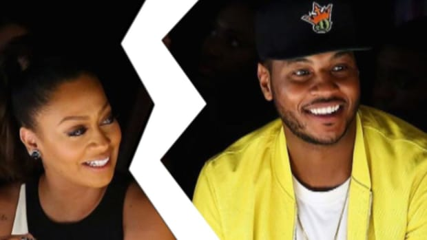 Carmelo Anthony and wife have separated--IMAGE