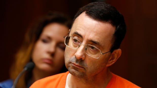 Ex-USA Gymnastics Doctor Larry Nassar Sentenced To 60 Years In Prison--IMAGE