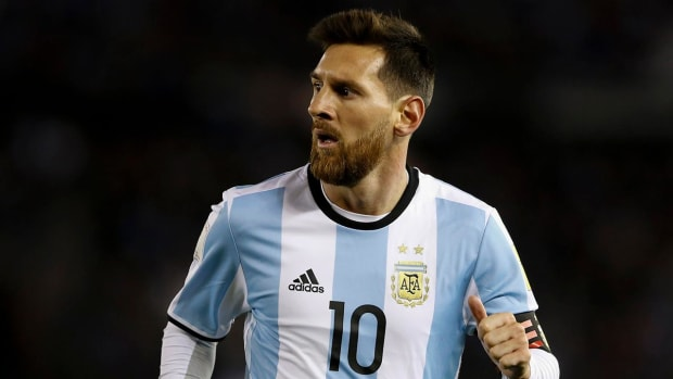 A World Cup Without Messi?--IMAGE