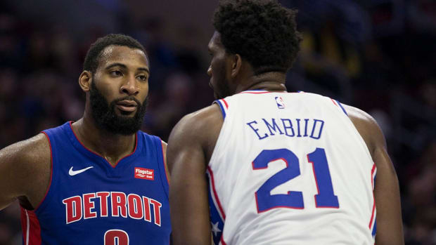 Give and Go: Breaking Down the Budding Rivalry Between Andre Drummond and Joel Embiid - IMAGE
