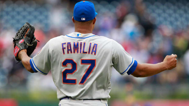 Mets' Jeurys Familia diagnosed with arterial clot in right shoulder - IMAGE