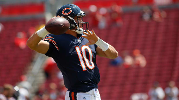 Bears' Expectation for Mitchell Trubisky in First Career Start - IMAGE
