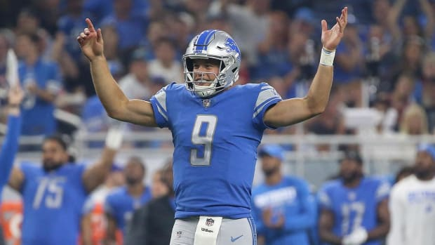 Report: Lions Make Matthew Stafford Highest-Paid Player in NFL History with Extension - IMAGE