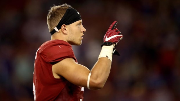 Cam Newton gains a weapon as Panthers select Christian McCaffrey--IMAGE