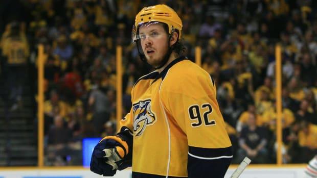 Nashville Predators Sign Ryan Johansen to 8-Year, $64 Million Contract--IMAGE