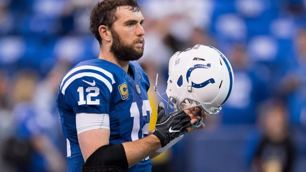 Colts Quarterback Andrew Luck to Start Training Camp on PUP List - IMAGE