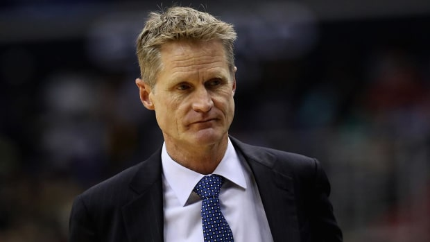 Report: Warriors remain concerned with coach Steve Kerr's return - IMAGE