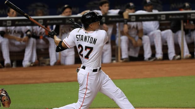Reports: Yankees, Marlins Agree to Giancarlo Stanton Trade--IMAGE