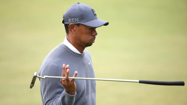 Tiger Woods found asleep at the wheel, didn't know where he was when arrested for DUI - IMAGE