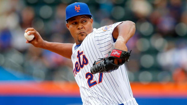 Mets' Jeurys Familia has surgery to remove clot; out indefinitely - IMAGE