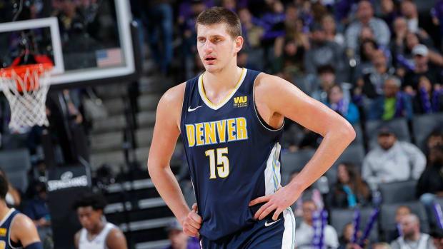 Denver Nuggets' Nikola Jokic Will Not Return to Bulls Game  - IMAGE